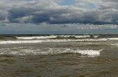 Stormy sea. — Стоковое фото