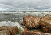 Mar tormentoso. — Foto de Stock