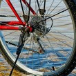 Bicycle on beach. — Stock Photo #38666213