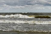 Mar tempestuoso. — Foto Stock