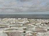 Winter and sea. — Stock Photo