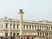 Venezia in a tourist season. — Stock Photo