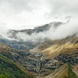 High Alps mountains between Italy and Switzerland. — Stock Photo