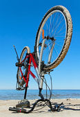 Stabile bike. — Stock Photo
