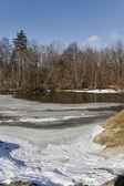 Winter river. — Stock Photo