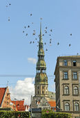 Center of Riga. — Stockfoto