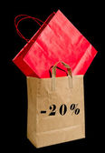 Shopping bags. — Foto Stock