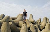 At the Baltic sea. — Stock Photo