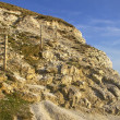 Seven sisters cliff, English Channel. — Stock Photo