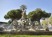 Fountain in Catania, Italy. — Stock Photo