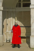 Queen's Horse Guard on duty. — Stock Photo