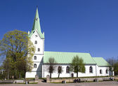 Church in Dobele, Latvia. — Stock Photo