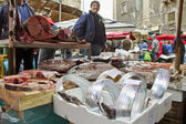 Fish market in Catania, Italy. — Stock Photo
