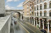 On Genova street. — Stock Photo