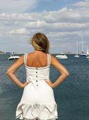 Woman in Krim. — Stock Photo