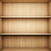 Bookshelf — Stock fotografie