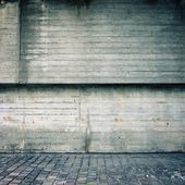 Blank dirty concrete wall — Stock Photo
