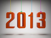 Happy New Year 2013 — Foto Stock