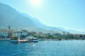 Beautiful bay of the Split in Croatia — Stock Photo