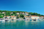 Beautiful bay of the island of Hvar — Stock Photo