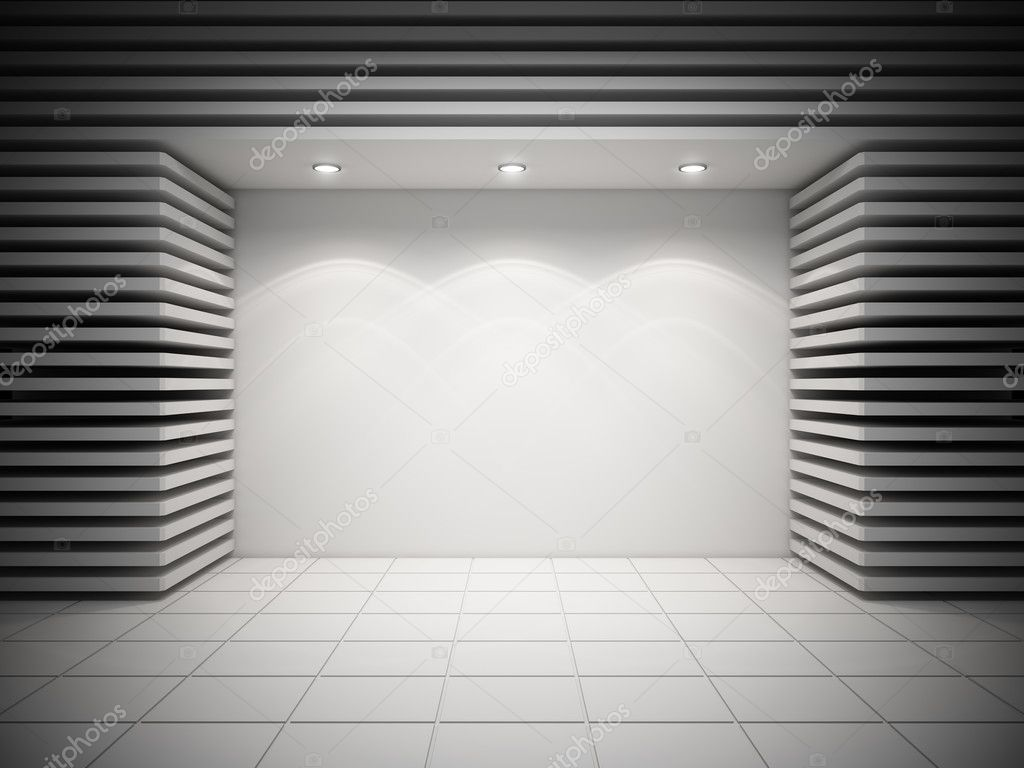 An empty storefront of shop  Stock Photo #16773705