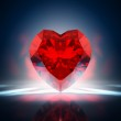 Diamond heart — Stock Photo #19363845