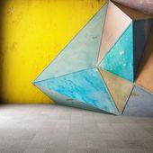 Abstract geometric background — Stockfoto