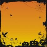halloween grunge hintergrund vektor — Stockvektor  #1094491