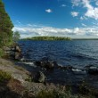 Stock Photo: Panoramof Engozero lake in Karelirepublic,Nothern Russia