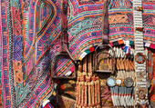 Closeup of camel decoration with stirrups,Thar desert,Rajasthan, — Stock Photo