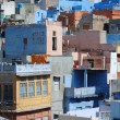Jodhpur - blue town,second largest city in Rajasthan,India — Stock Photo
