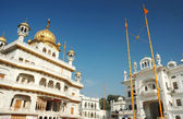 Inside famous Golden Temple - Harmandir Sahib, Amritsar — Stock Photo