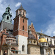 Gothic Wawel Cathedral in Royal Wawel castle ,Krakow,Poland — Stock Photo