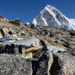 Kala Patthar mountain (5164 m ), Nepal, Everest region — Stock Photo