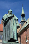 Monument of scientist and professor of Jagiellonian University,Jozef Dietl — Stock Photo