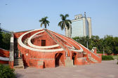 Jantar Mantar- medieval observatory in Delhi, India,unesco heritage — Stock Photo