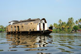 Tourist boat at Kerala backwaters,Alleppey,India — Stock Photo