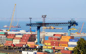 Odessa Marine Trade Port (OMTP),Ukraine -one of largest ports in the Black Sea — Stock Photo