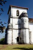 Kościół Panny Różańcowej w starym goa, Indie portugalskie, unesco — Zdjęcie stockowe