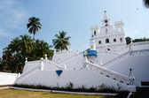 Nostra signora della chiesa dell'immacolata concezione - goa nord, panaji, india — Foto Stock