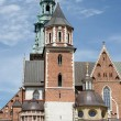 Wawel Royal Castle and Cathedral in Krakow, Poland — Stock Photo