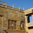 Traditional hindu architecture of Jaisalmer fort,India,Asia — Stock Photo