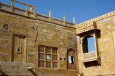 Traditional hindu architecture of Jaisalmer fort,India,Asia — Stock Photo