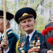 Old veterans come to celebrate Victory Day in commemoration of Soviet soldiers who died during Great Patriotic War on May 9,2014 in Odessa,Ukraine — Stock Photo