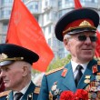 Old veterans come to celebrate Victory Day in commemoration of Soviet soldiers who died during Great Patriotic War 1941-1945 on May 9,2014 in Odessa,Ukraine — Stock Photo