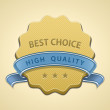 Best choice seal - Imagen vectorial