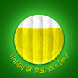 Happy St. Patrick's Day Poster — Vector de stock