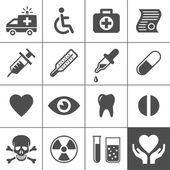 医疗及健康图标集 — 图库矢量图片