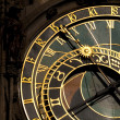 Astronomical clock in Prague — Foto de Stock