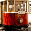 Stock Photo: Old tram in Prague